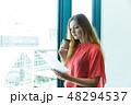 グローバルビジネス 女性 48294537