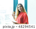 グローバルビジネス 女性 48294541