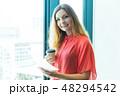 グローバルビジネス 女性 48294542