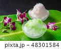 アジアのかき氷 Shaved ice that Asian fruit 48301584