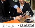 ビジネス ビジネスマン 会社員の写真 48303536
