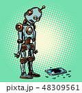 ベクトル ロボット 科学のイラスト 48309561