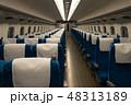 東海道山陽新幹線N700Aの普通車座席、シートレイアウト 48313189