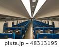 座席 シート 電車の写真 48313195