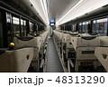 京阪電車プレミアムカーの車内 48313290