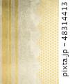 和柄 桜 ラインのイラスト 48314413