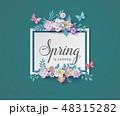 春 泉 ばねのイラスト 48315282