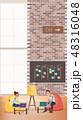 職業 中心部 センターのイラスト 48316048