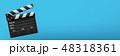 カチンコ ムービー 映画のイラスト 48318361