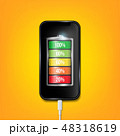 フォン 電話 充電器のイラスト 48318619