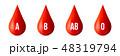 血液 タイプ 種類のイラスト 48319794