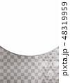 和柄 麻の葉 背景素材のイラスト 48319959