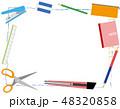 筆記用具フレーム Writing utensil frame 48320858