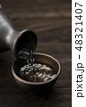 日本酒 清酒 お猪口の写真 48321407