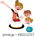 ママの手作りケーキ 48321537