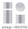 カン 缶 缶詰めのイラスト 48323742
