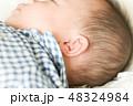 男の子 赤ちゃん 赤ん坊の写真 48324984