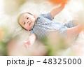 男の子 赤ちゃん 赤ん坊の写真 48325000