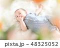 男の子 赤ちゃん 赤ん坊の写真 48325052