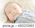 男の子 赤ちゃん 赤ん坊の写真 48325063