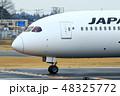 飛行機 旅客機 航空機の写真 48325772