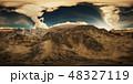 スコットランド スコティッシュ 雲のイラスト 48327119