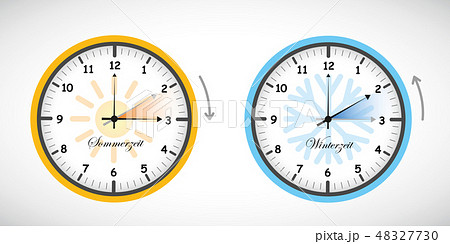 summer time and winter time clock daylight saving 48327730