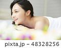 若い女性 女性 アジア人の写真 48328256