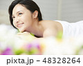 若い女性 女性 アジア人の写真 48328264