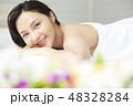 若い女性 女性 アジア人の写真 48328284