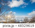 日本 スキー 空の写真 48329619
