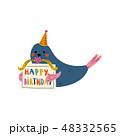 バースデー 誕生日 パーティーのイラスト 48332565