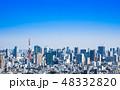 東京 都市風景 東京タワーの写真 48332820
