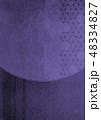 背景素材 紗綾形 和柄のイラスト 48334827