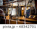 HELSINKI, FINLAND - OCTOBER 29, 2008: Old style wooden ship 48342701