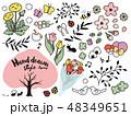 春 花 ベクターのイラスト 48349651