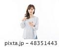 女性 アジア人 若いの写真 48351443
