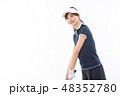 ゴルフ ゴルファー 女性の写真 48352780