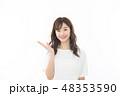 女性 アジア人 ポートレートの写真 48353590