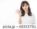 女性 アジア人 若いの写真 48353791