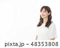 女性 アジア人 ポートレートの写真 48353808