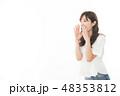 女性 アジア人 若いの写真 48353812