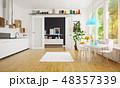 modern scandinavian kitchen room design. 48357339
