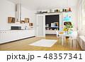 modern scandinavian kitchen room design. 48357341