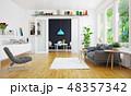 modern scandinavian living room design. 48357342