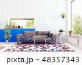 modern scandinavian living room design. 48357343