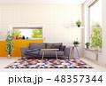 modern scandinavian living room design. 48357344