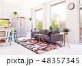 modern scandinavian living room design. 48357345