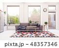 modern scandinavian living room design. 48357346