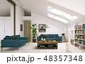 modern living room interior design. 48357348